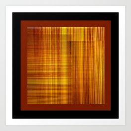 Pleated DPG170615c Art Print