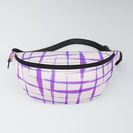 Acrylic colorful lines Fanny Pack