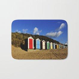 Beach Huts Bath Mat