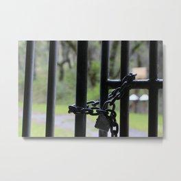 Locked In Metal Print