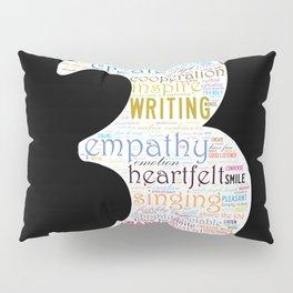 Life Path 3 (black background) Pillow Sham