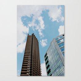 Barbican Offices Canvas Print
