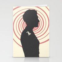 vertigo Stationery Cards featuring Vertigo by Bill Pyle