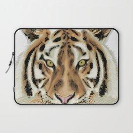 Stylized Tiger Portrait Laptop Sleeve