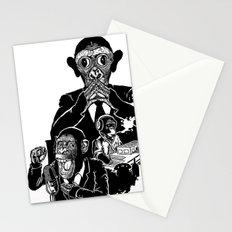 Three Wise Monkeys Stationery Cards
