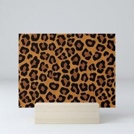Original Leopard Print  Mini Art Print