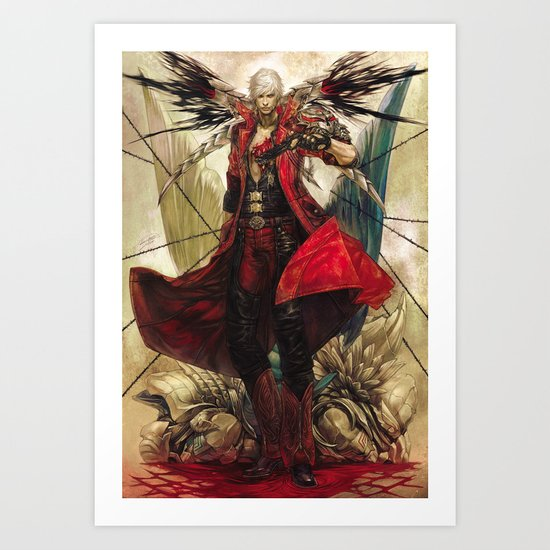 Lucifer Art Print By Offrecord