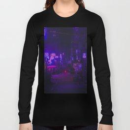 Vaporwave Vibes Alleyway Long Sleeve T-shirt