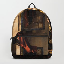 """Johannes Vermeer """"Girl Reading a Letter at an Open Window"""" Backpack"""