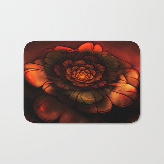 Neon Flower Bath Mat
