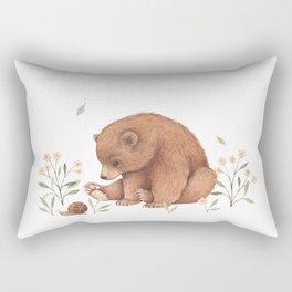 Spring Bear Rectangular Pillow