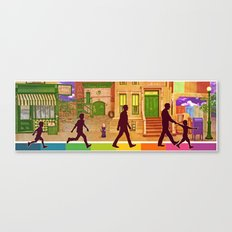 The Street I Grew up On Canvas Print