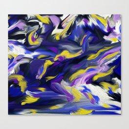 Violaceous Canvas Print