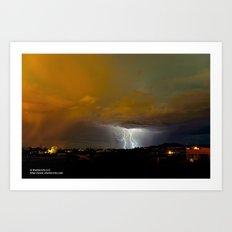 Monsoon Drifter Art Print