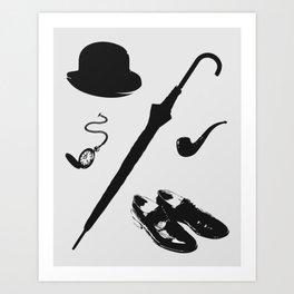 Gentleman's Accoutrements Art Print