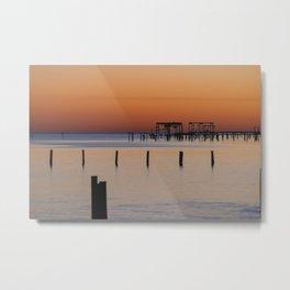 Calm | Sunset Metal Print