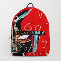 I don't want to go to school anymore street art graffiti Backpack
