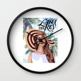 lana album del rey 2021 katrin8 Wall Clock