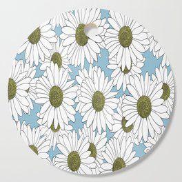 Daisy Blue Cutting Board