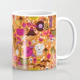 Tiki Freaks do the Hulaween Coffee Mug