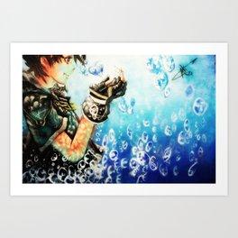 Kingdom Hearts _ Sora  Art Print
