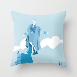 Equilibrium Throw Pillow