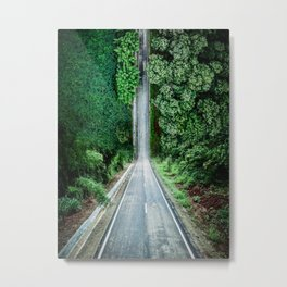 Inception Road Metal Print