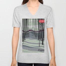 Japan woodland Unisex V-Neck