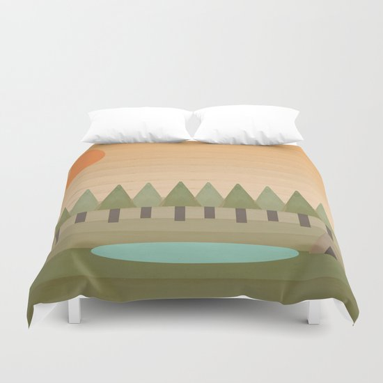 Camping Out Duvet Cover