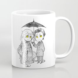 Charlotte and Umbrella man Coffee Mug