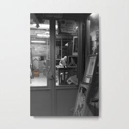 Restoration shop Metal Print