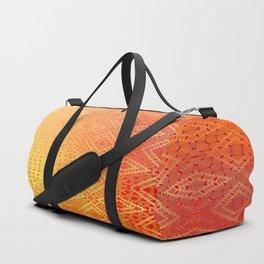 Diamonds Going On Forever (orange) Duffle Bag