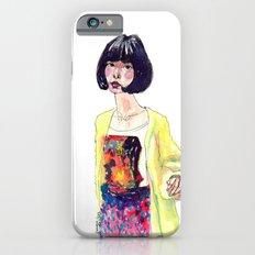Fashion Illustration . Oriental Girl iPhone 6s Slim Case