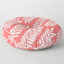 Melon Leaflets Floor Pillow