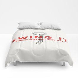 Swing it - Zombie Survival Tools Comforters