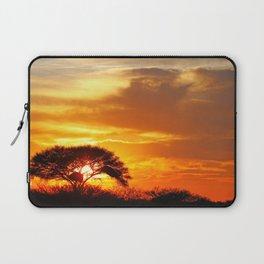 African sunrise Laptop Sleeve