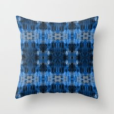 Sierra Blue Throw Pillow