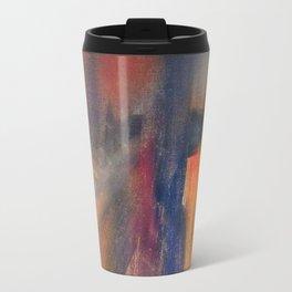 Abstract One Metal Travel Mug