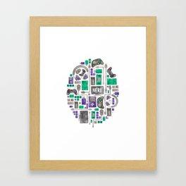 Gamer/Computer Nerd Framed Art Print
