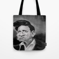 The Man in Black Tote Bag