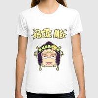 dmmd T-shirts featuring Bite Me by zamiiz