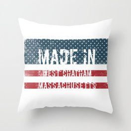 Made in West Chatham, Massachusetts Throw Pillow