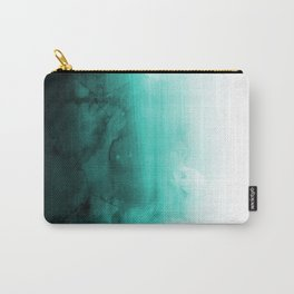 Green Lagoon Carry-All Pouch