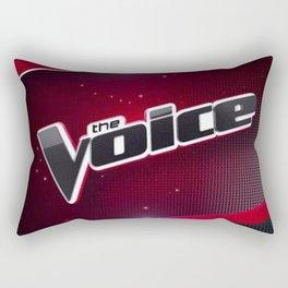 the voice logo Rectangular Pillow