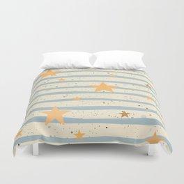 Star Pattern Duvet Cover