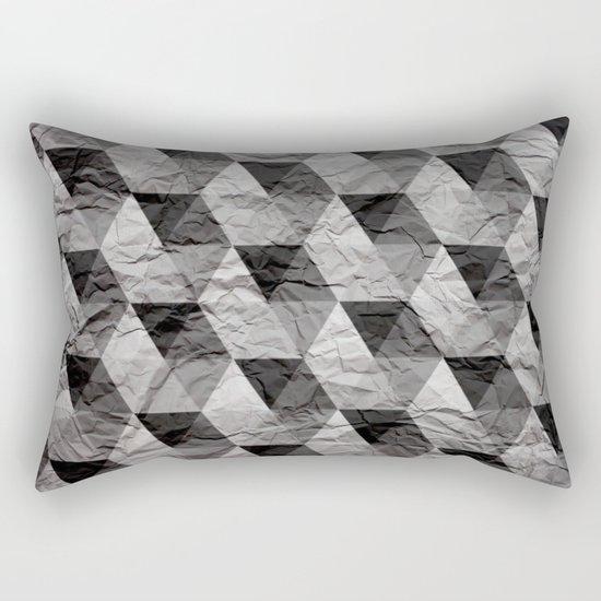 triangles II Rectangular Pillow