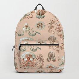 Ernst Haeckel - Jellyfish Scientific Illustration Backpack