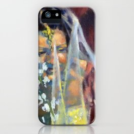 Sri Lankan Bride iPhone Case