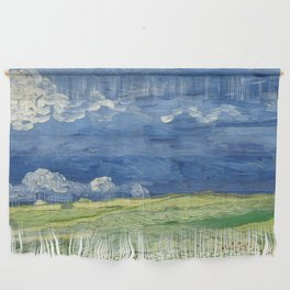 Vincent van Gogh - Wheatfield Under Thunderclouds Wall Hanging