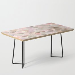 MERMAID SHELLS - CORAL ROSEGOLD Coffee Table